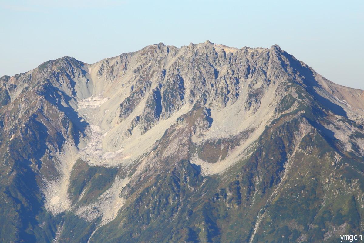 秋山シーズ到来!北アルプスの稜線へ (鹿島槍ヶ岳2)_f0157812_08102108.jpg