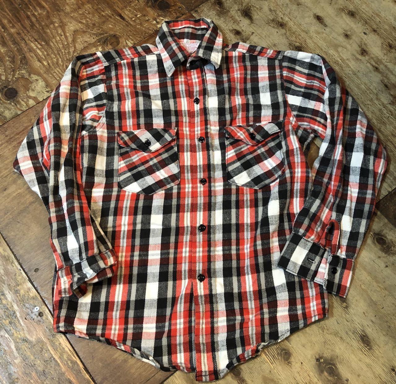 10/6(日)入荷!80s MADE IN U.S.A FROST PROOF ヘビーネルシャツ!_c0144020_14133237.jpg