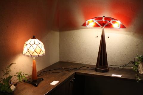 大須賀昭彦 和子 ステンドグラスの灯り展_a0260022_12344975.jpg