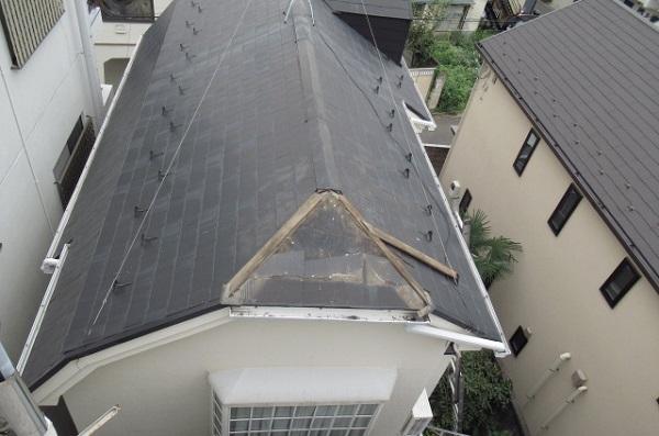 目黒区「コーポA」台風災害復旧工事(2)_a0214329_852462.jpg
