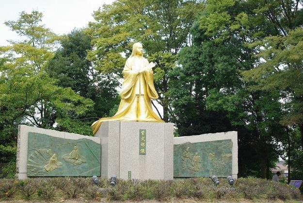 秋の福井の旅 紫式部公園_d0043136_10315816.jpg