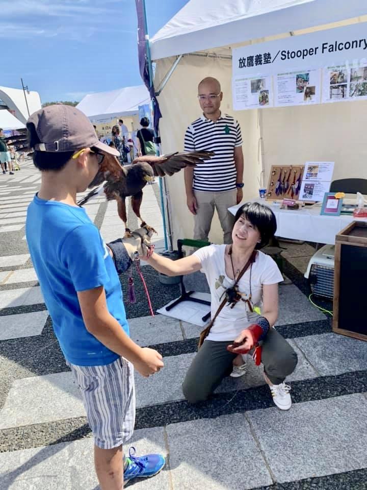 放鷹義塾&STOOPER  動物感謝デー2019に参加しました。_c0132048_20511322.jpeg