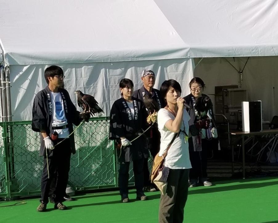 放鷹義塾&STOOPER  動物感謝デー2019に参加しました。_c0132048_20513183.jpeg