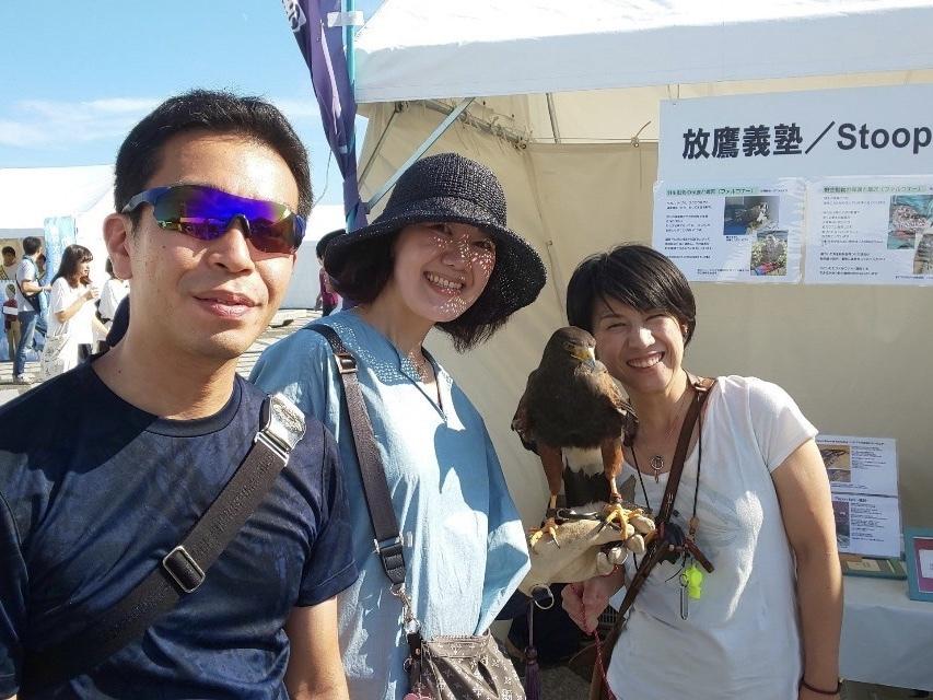 放鷹義塾&STOOPER  動物感謝デー2019に参加しました。_c0132048_20514113.jpeg