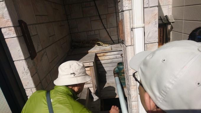ペンションじょう蔵は、高田屋本店跡地に建つ。防火のための井戸を掘削_b0106766_17371482.jpg