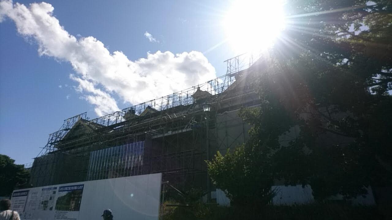 改修工事中の旧函館区公会堂_b0106766_18560859.jpg