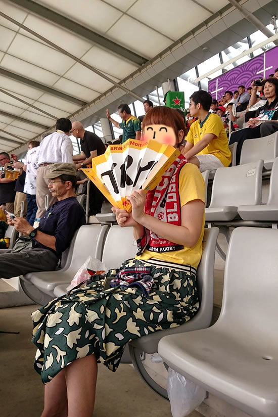 2019.9.29 RUGBY WORLD CUP 2019 JAPAN【プールD】オーストラリア vs ウェールズ@東京 行ってきた☆_a0353681_19582624.jpg