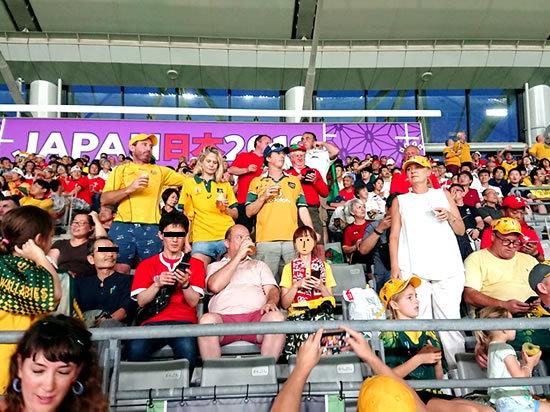 2019.9.29 RUGBY WORLD CUP 2019 JAPAN【プールD】オーストラリア vs ウェールズ@東京 行ってきた☆_a0353681_19584780.jpg