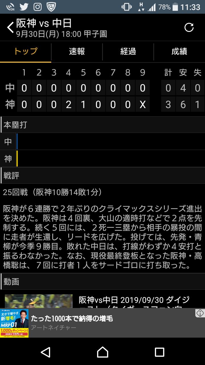 「阪神タイガース奇跡のCS出場」_a0075684_10061761.png