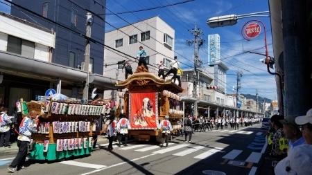 祭シリーズ 3年に一度の『藤枝大祭り』の見物_b0011584_09322728.jpg