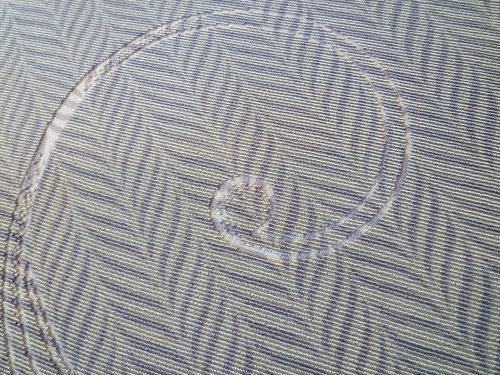 ビロードコート 大唐草の地紋に杉綾手綱 <しょうざん新和装 謹製>_d0159384_18310275.jpg