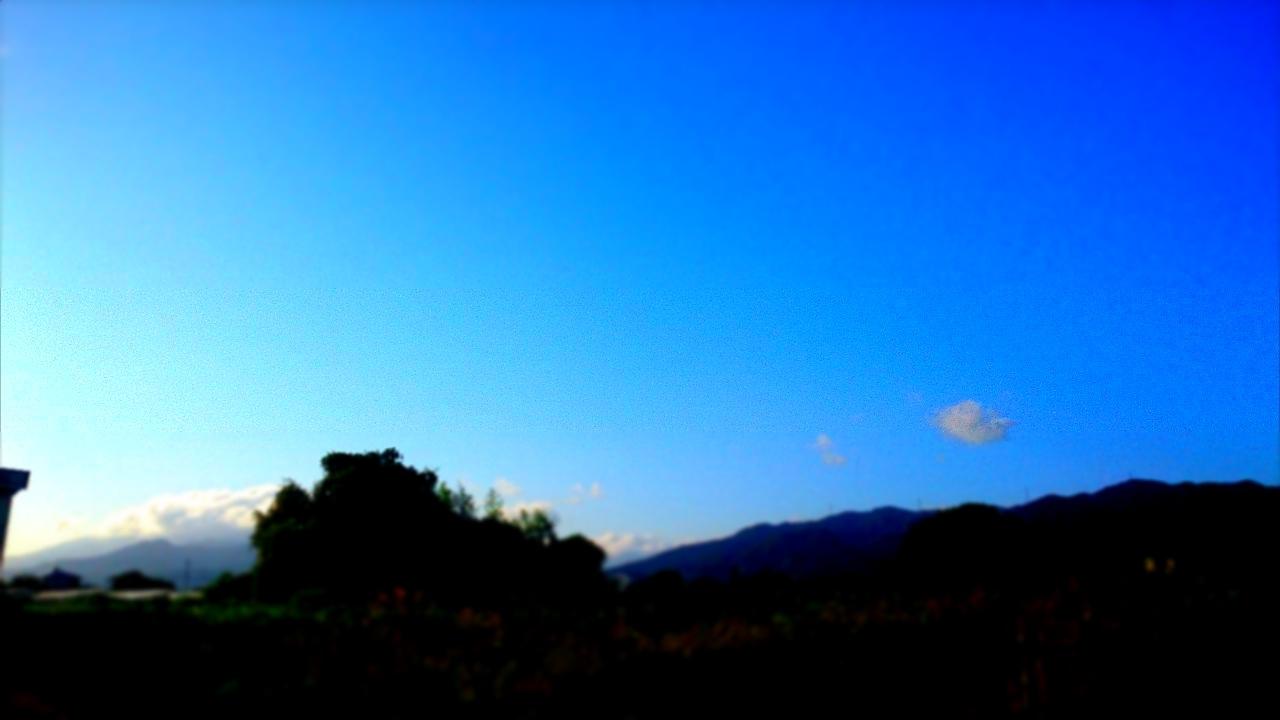 秋晴れかな。_d0132289_16580858.jpg