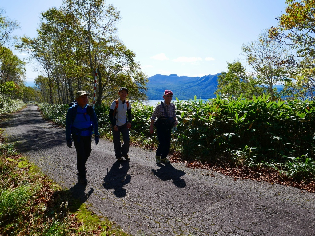 Sさんの山復帰で紋別岳、2019.10.6_f0138096_21134940.jpg