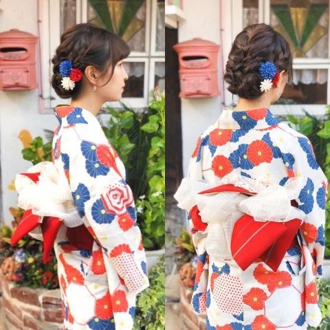二子玉川花火 浴衣の着付け_a0123703_00201929.jpeg