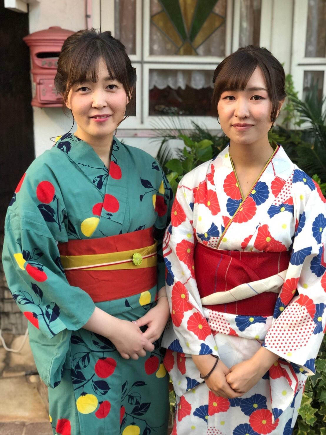二子玉川花火 浴衣の着付け_a0123703_00210453.jpeg
