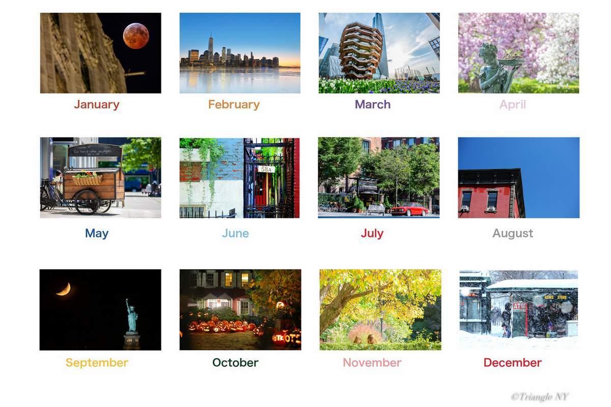 Triangle NY 2020年 カレンダー  ~10月の知らせ~_a0274805_22213596.jpg