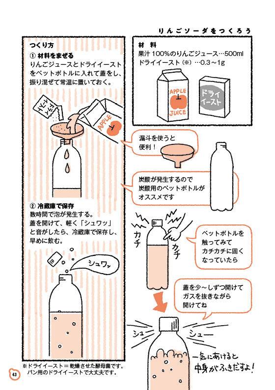 【ゆる菌活 10】りんごソーダ(前編)_c0216405_07364395.jpg