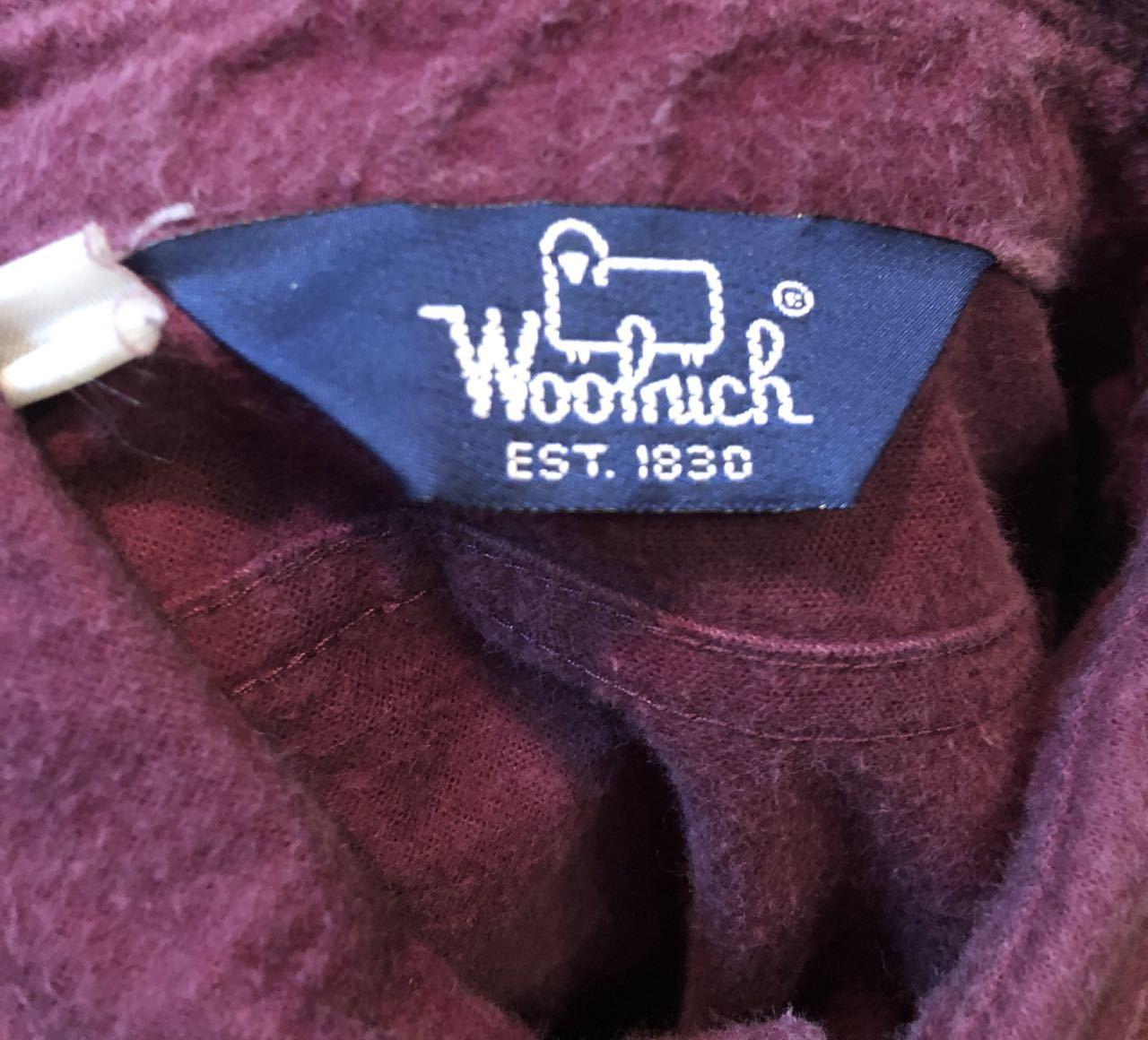 10/7入荷!80s〜 woolrich ウールリッチ シャモアクロス シャツ!_c0144020_13203400.jpg