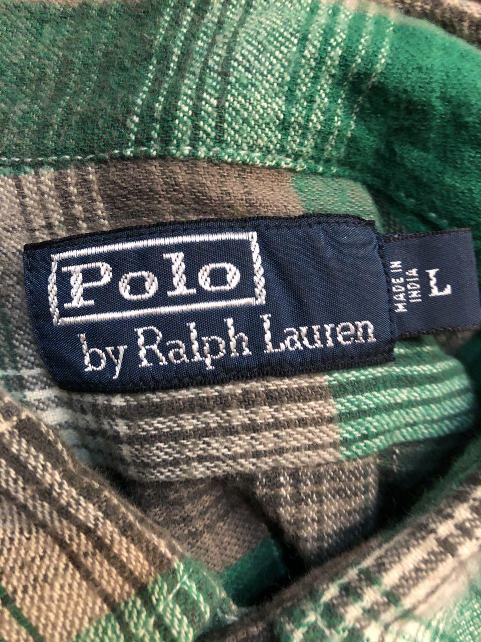 10/7(月)入荷! POLO Ralph Lauren ラルフローレン オンブレー ネルシャツ!_c0144020_13243075.jpg