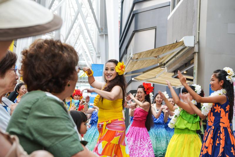 高松フラストリート 2019 たっきーフラスタジオ プリメリア 花 ステージ ⑥ PM_d0246136_16541489.jpg