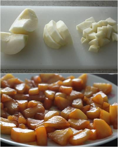 さつまいもとカラメルりんごのミニ食パン_a0165538_10392801.jpg