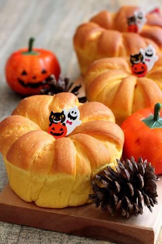 【レシピ】かぼちゃのクラウン~楽しい成形_a0165538_15222921.jpg
