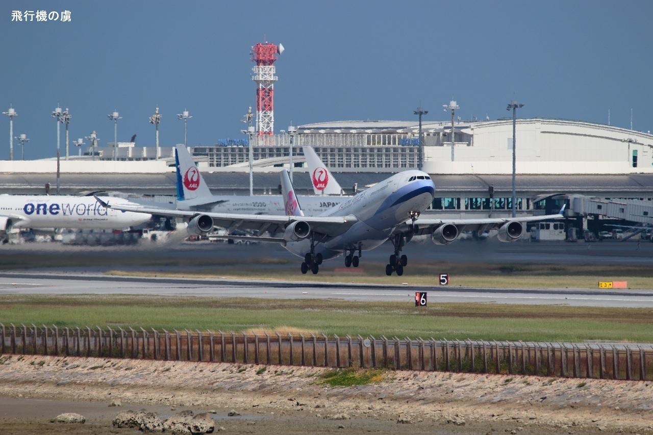 ポイントは梅の花  A340  チャイナエアライン(CI)_b0313338_00263515.jpg