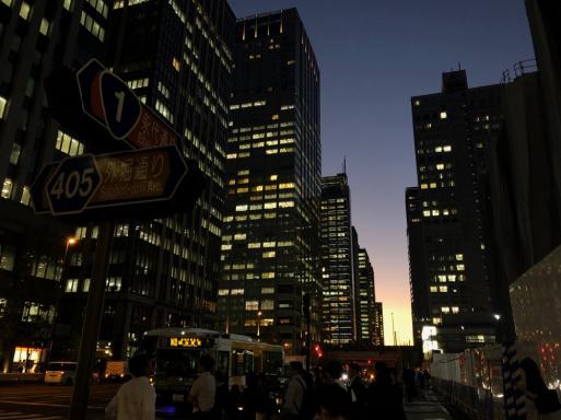 東京駅八重洲口から外堀通りまでは丸の内の町名だ_d0057843_13504195.jpg