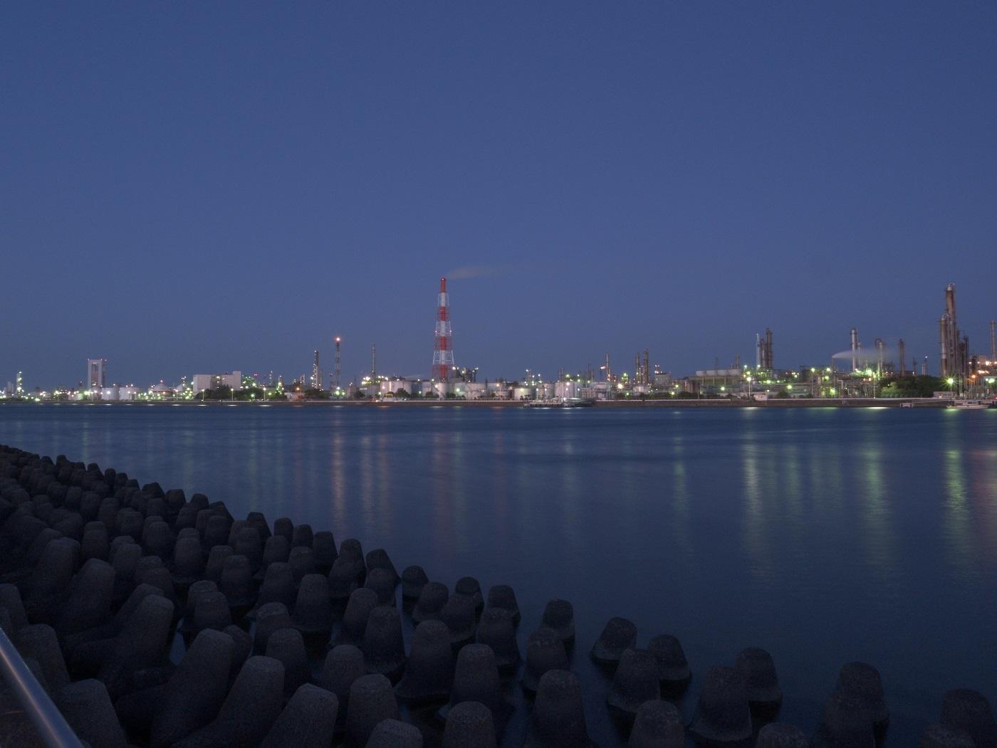四日市の工場夜景_c0294553_04363006.jpg