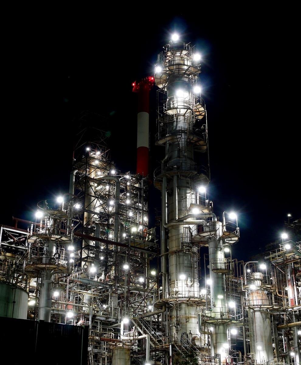 夜も更けて         工場撮影_c0294553_19584035.jpg