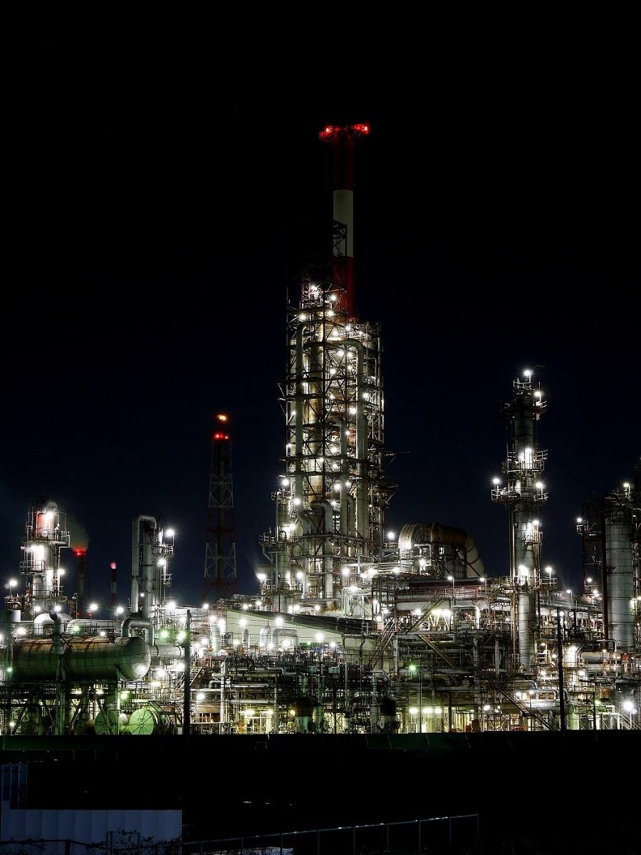 夜も更けて         工場撮影_c0294553_19590239.jpg