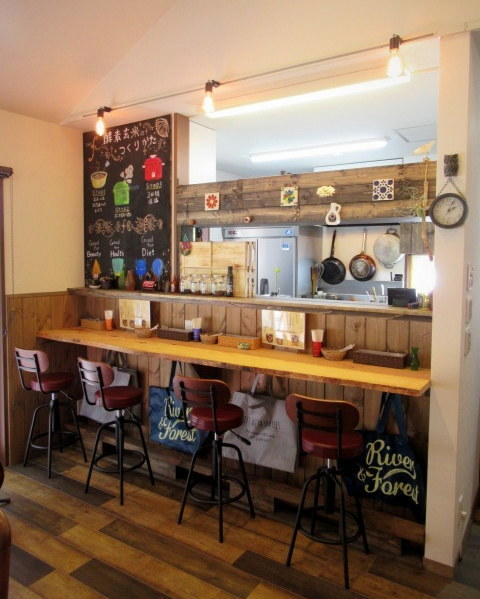 Cafe「f」フォルテ 軽井沢 * 酵素玄米カレーのランチセット♪_f0236260_17373287.jpg