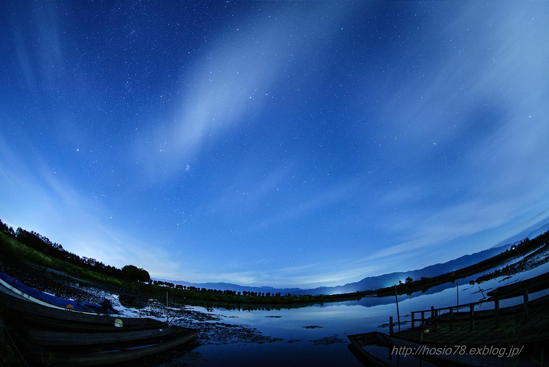 福島潟の星と流れる雲(タイムラプス動画付き)_e0214470_16382322.jpg