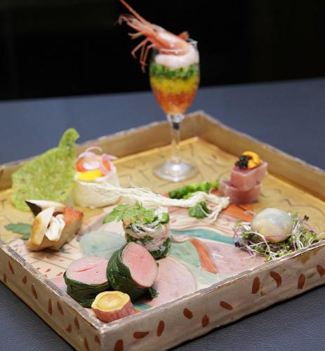 日本閣のお料理とお酒を愉しむひととき「旬菜美酒」_d0079577_16104357.jpg