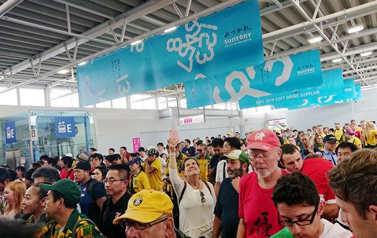 2019.9.29 RUGBY WORLD CUP 2019 JAPAN【プールD】オーストラリア vs ウェールズ@東京 行ってきた☆_a0353681_17012643.jpg