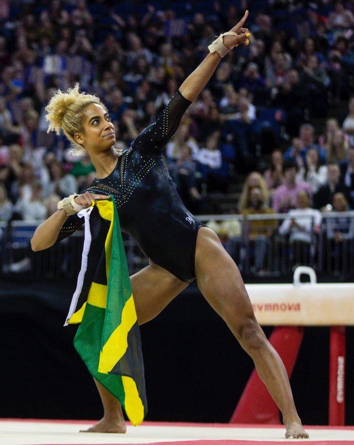 ジャマイカ体操選手ダヌーシャ・フランシス、東京オリンピックへ_e0139395_00584473.jpg