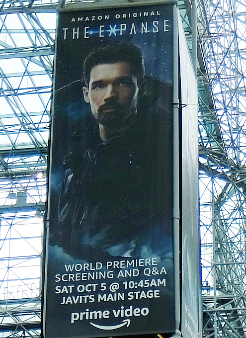 "NYCC2019、Amazon Prime Videoの新SFシリーズ、""The Expanse""ブース_b0007805_09555420.jpg"