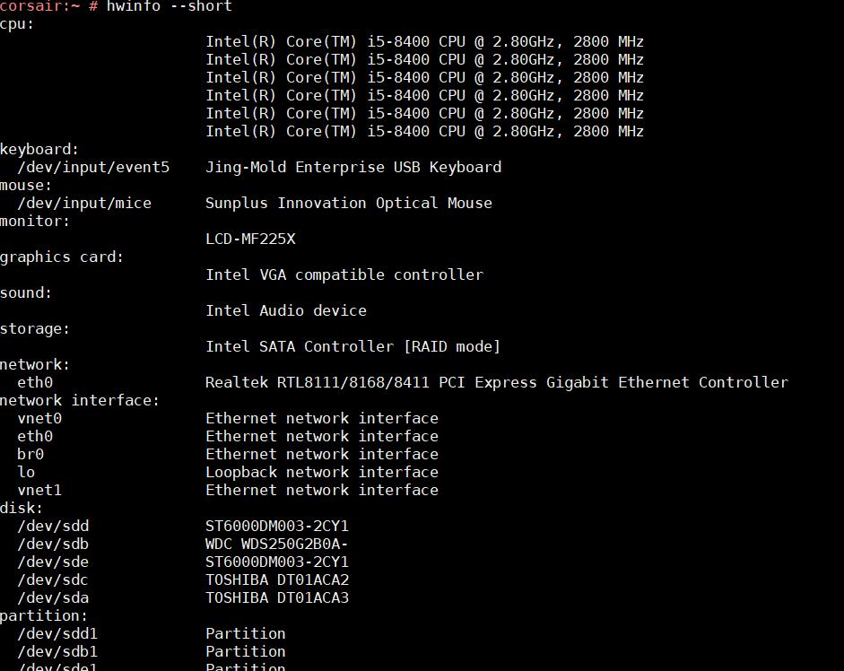 SUSE Linux でハードウェアやソフトウェアの情報を調べる_a0056607_12191797.png