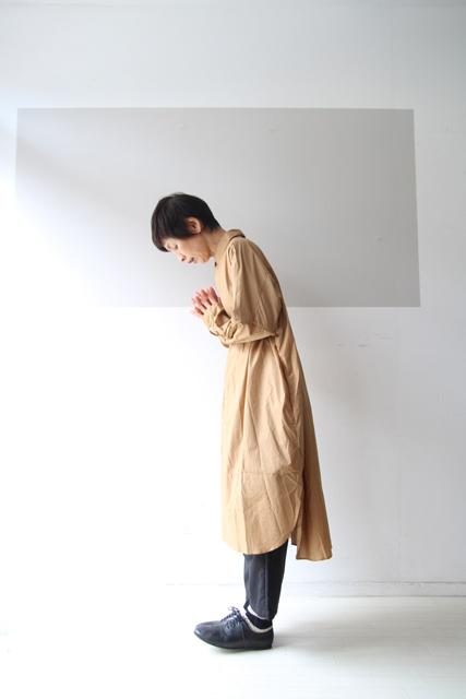 BEIGEのシャツワンピ_f0215708_14061934.jpg