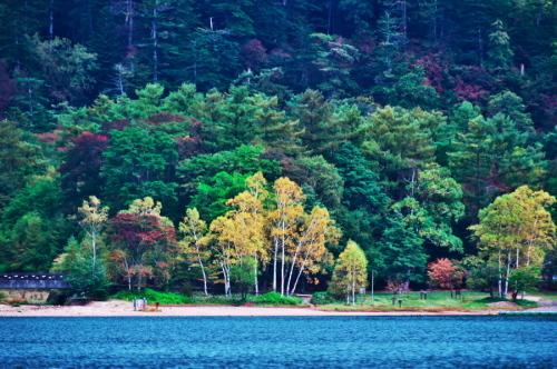 奥日光 湯ノ湖の紅葉の始まり_a0263109_10545578.jpg