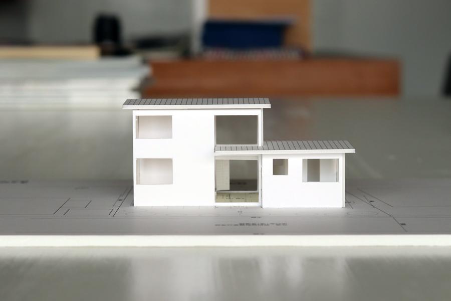 土手下の住宅/模型/倉敷_c0225122_14212436.jpg
