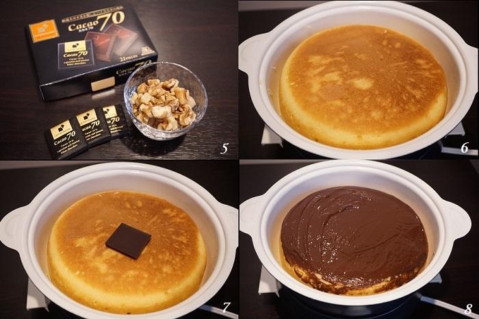 ケーキのようなホットケーキを作る!_d0269651_16430044.jpg