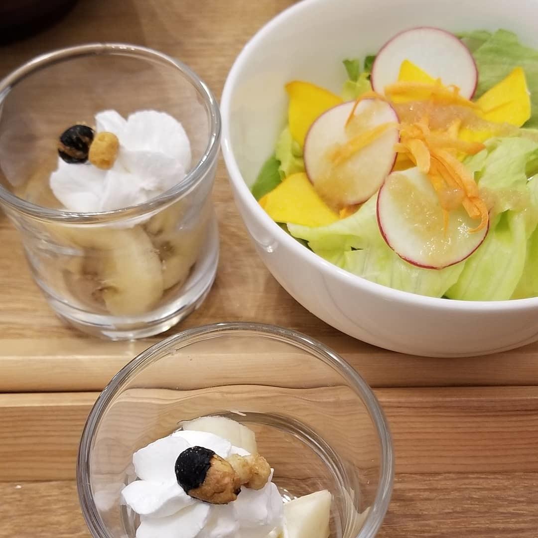 Cafe「f」フォルテ 軽井沢 * 酵素玄米カレーのランチセット♪_f0236260_18065503.jpg
