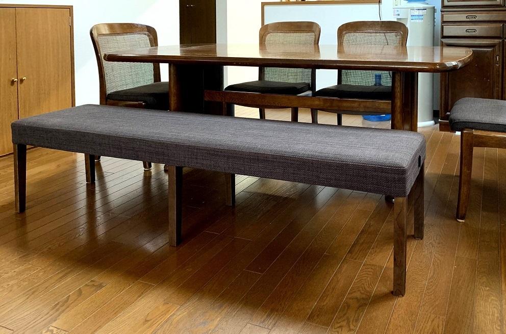 カリモク家具 椅子の修理と新しいベンチの納品実例_d0224984_18395096.jpg