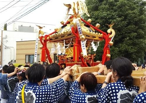 保健センター視察 久富稲荷神社祭礼_c0092197_17232881.jpg