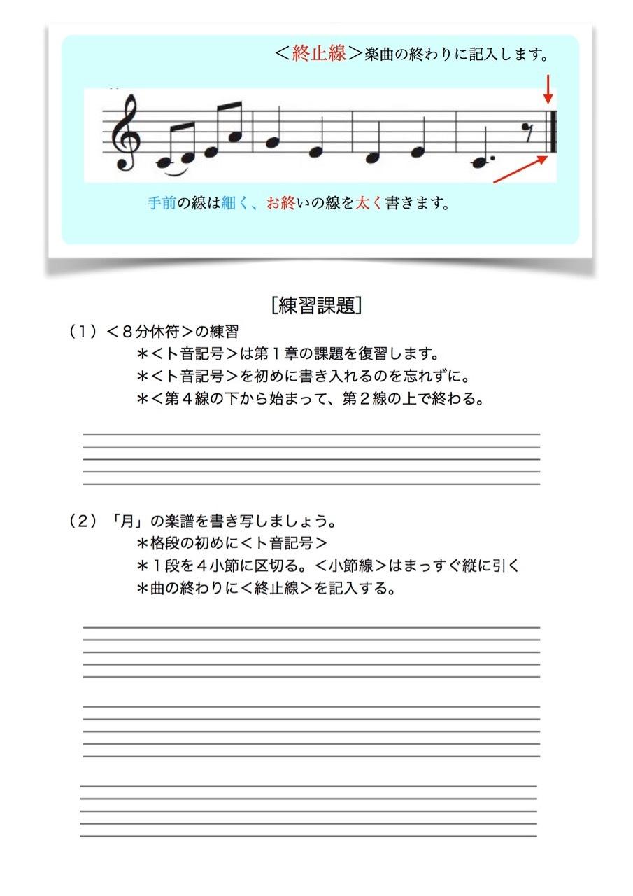 <お母さんと幼児の為の楽典>-27 「楽譜を書こう-1」_d0016397_19290831.jpg