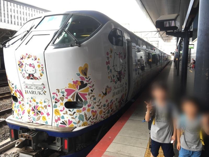 京都駅にてハローキティはるかに遭遇! *夏休み京都鉄道旅⑨*_d0367998_12113061.jpeg