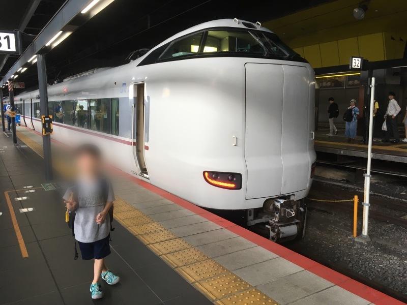 京都駅にてハローキティはるかに遭遇! *夏休み京都鉄道旅⑨*_d0367998_12140739.jpeg