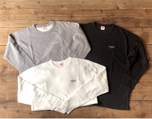 【DELIVERY】 STANDARD CALIFORNIA - 2Layer Small Logo Long Sleeve_a0076701_16104077.jpg