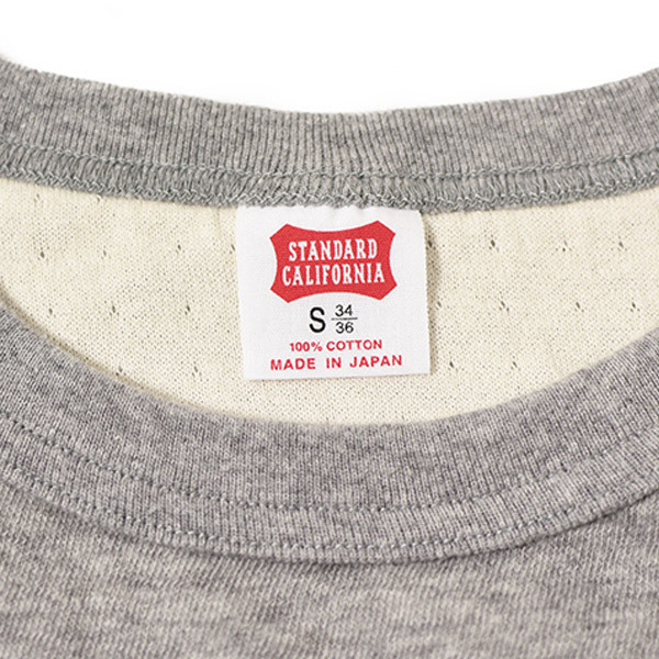 【DELIVERY】 STANDARD CALIFORNIA - 2Layer Small Logo Long Sleeve_a0076701_16133246.jpg